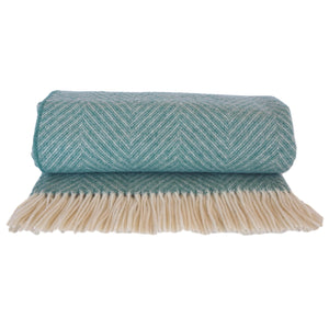 Beautiful Alpine Green Wool Blanket for you dog