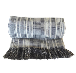 City Grey Throw
