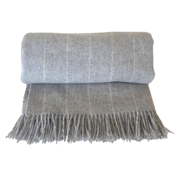 London Lambswool Throw