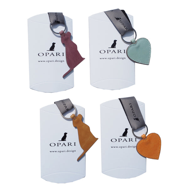 Opari Luxury Leather Keyring Christmas gifts for dog lovers