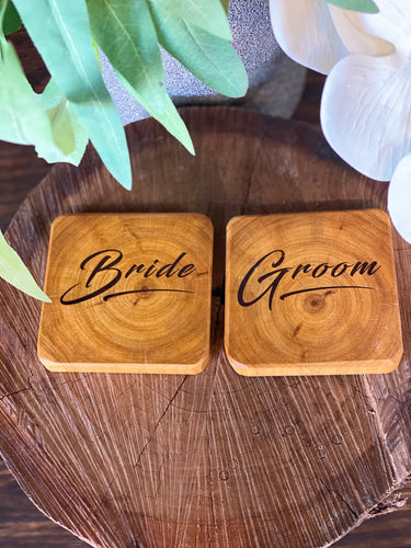 Coaster - Bride & Groom 2pk
