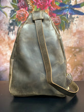 Load image into Gallery viewer, Crossbody Bag - Brown Leather