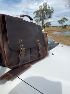 Laptop Bag - Classic - Full Grain Leather