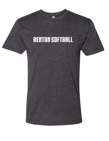 BHS - Softball Heathered Tee