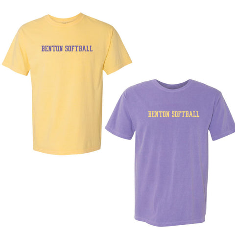 BHS - Softball Comfort Colors Tee