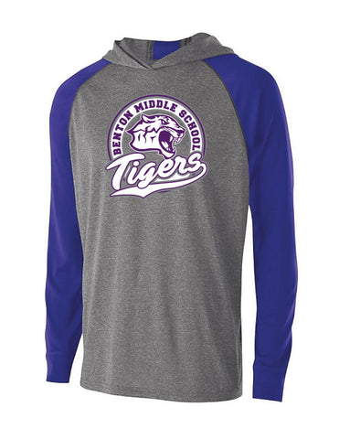Benton Middle School - Lightweight Performance Hoodie