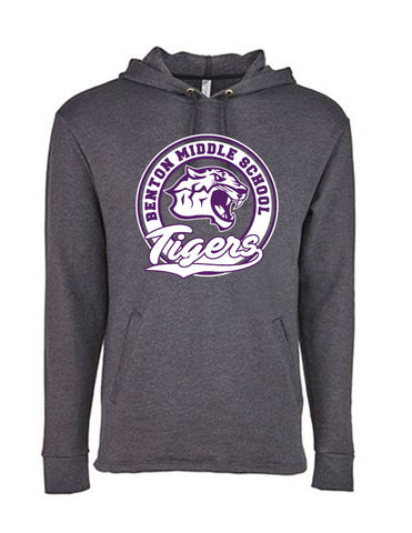 Benton Middle School - Next Level Adult Hoodie
