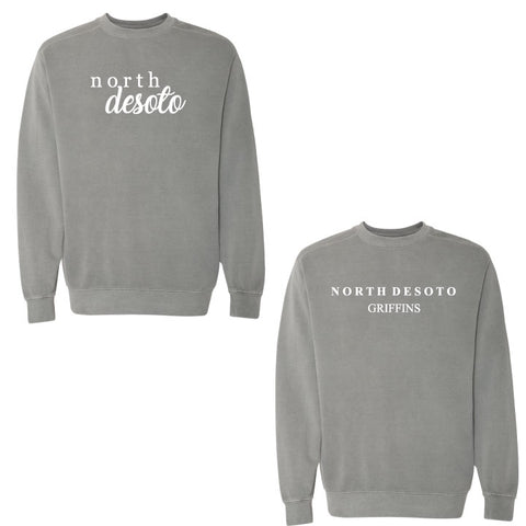 North DeSoto - Comfort Colors Sweatshirt