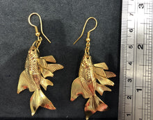 Load image into Gallery viewer, Goldfish Earrings