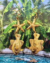 Load image into Gallery viewer, Starfish & Angelfish Earrings