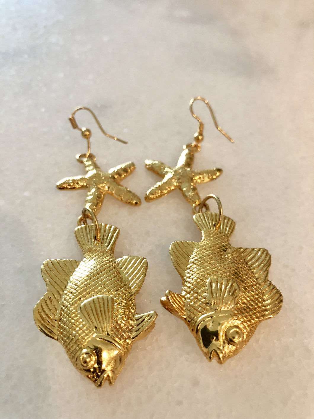 Starfish & Angelfish Earrings