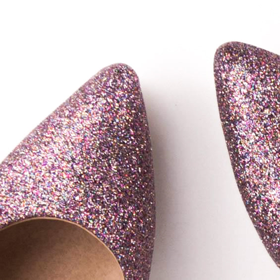 KANDY Décolleté Glitter Tacco Stiletto