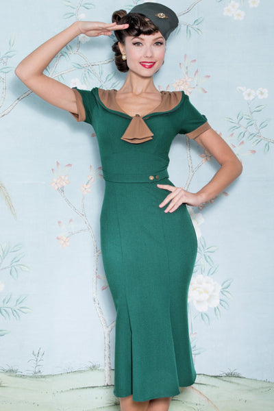 The Army Green Raileen Dress,stopstaring.