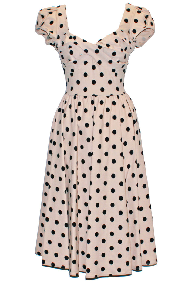 Billion Dollar Polka Dot Swing Dress
