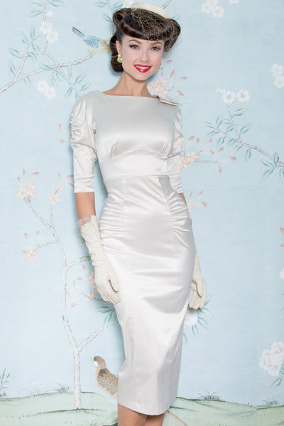 Casablanca Satin Dress
