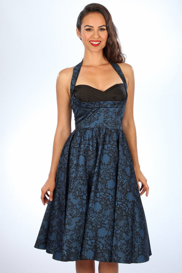 Covergirl Lace Swing Dress