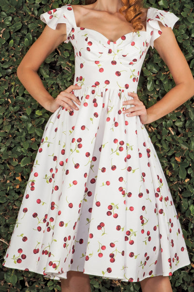 Ellad Cherry Swing Dress