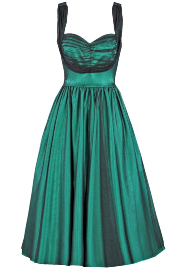 Esmer Swing Satin Dress,stopstaring.