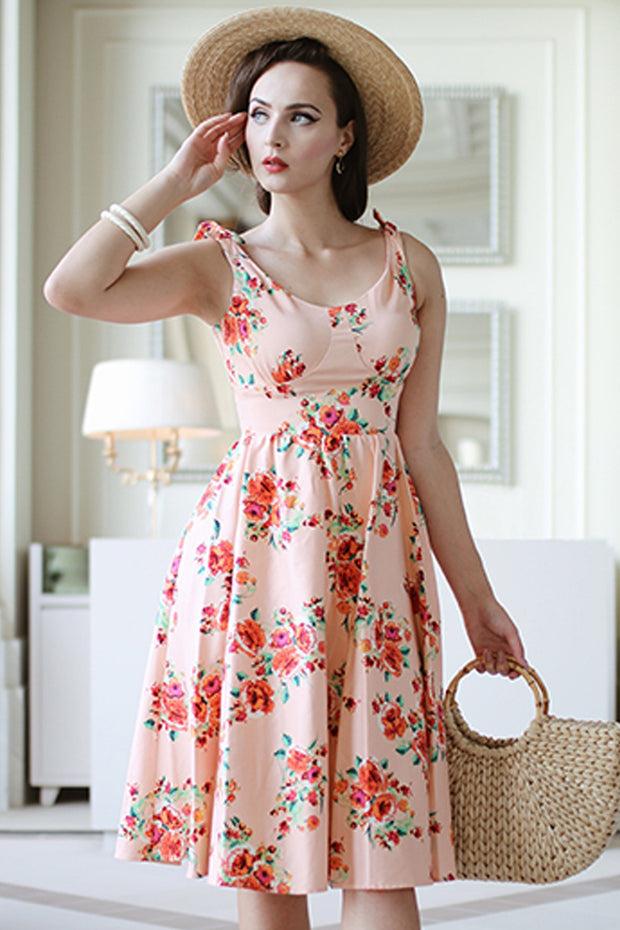 Estello Floral Swing Dress