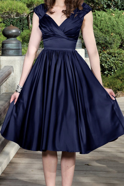 Graciela Swing Satin Dress