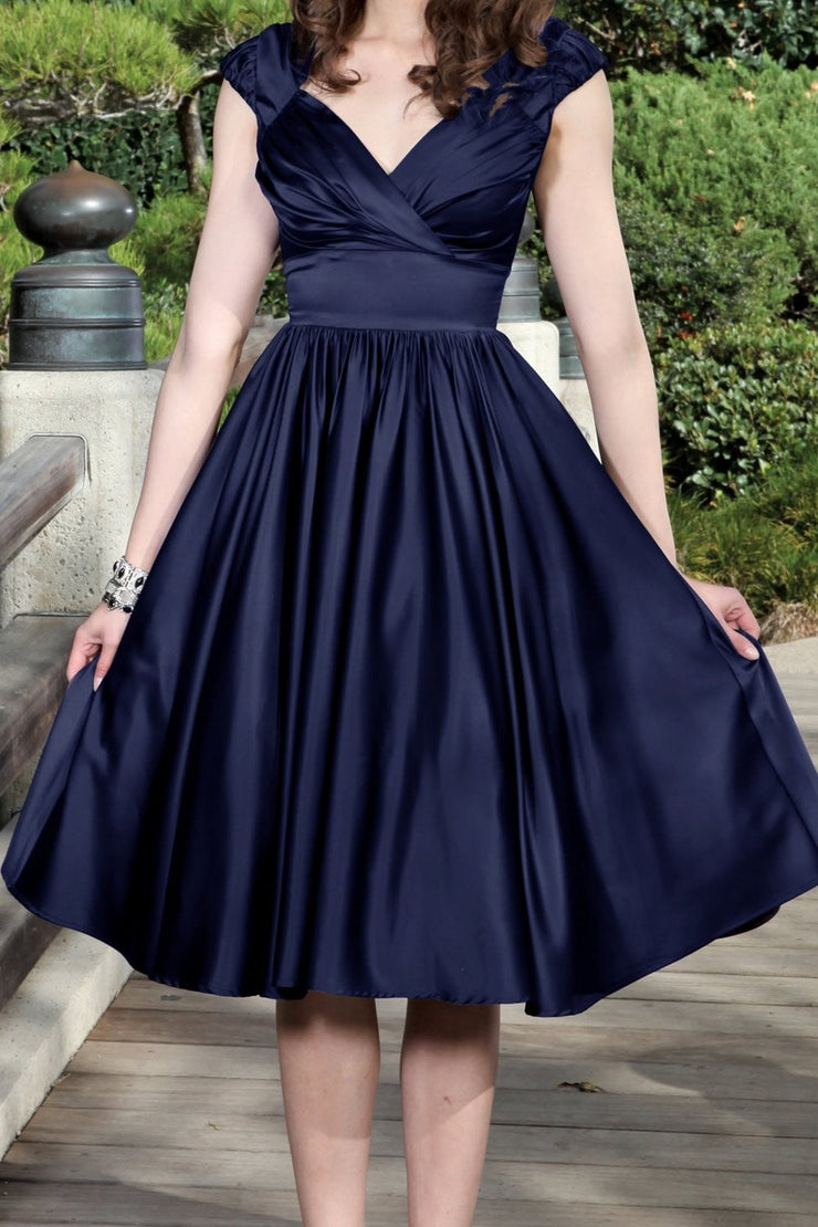 Graciela Swing Satin Dress,stopstaring.