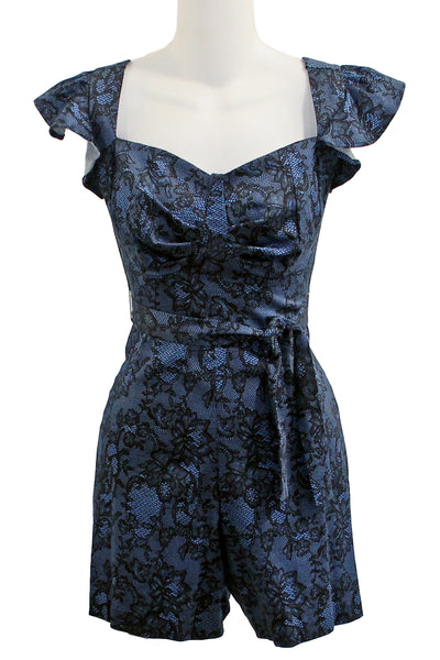 ITEM 4002 Blue Lace Size Small