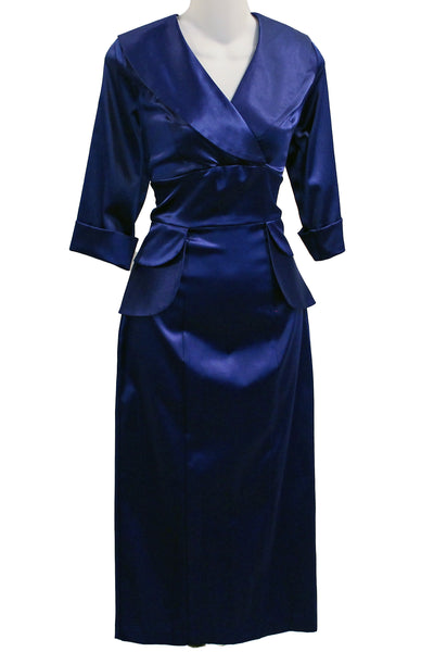 ITEM 4037 Blue Sating Size Small