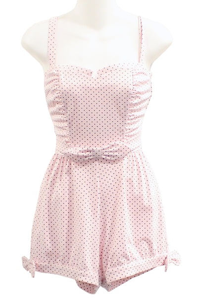 ITEM 4069 Pink Black Dot Size Small