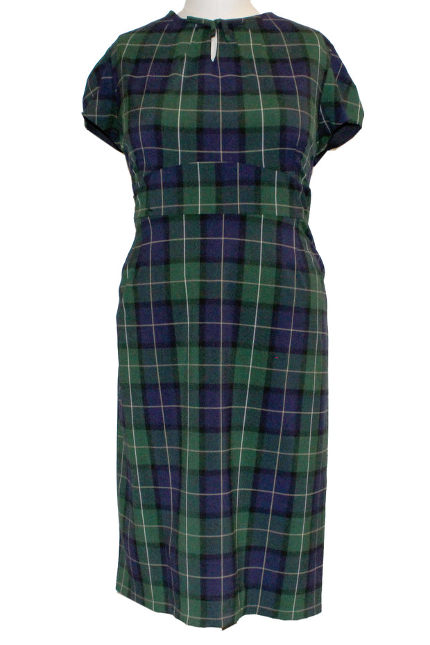 ITEM 4181 Blue Green Plaid Size 4X 20