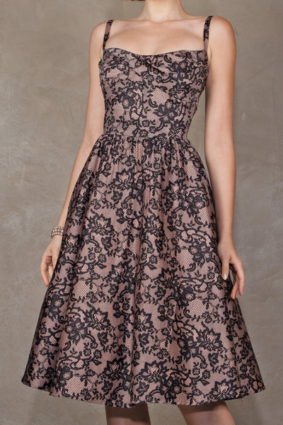 Jennifer Swing Lace Dress