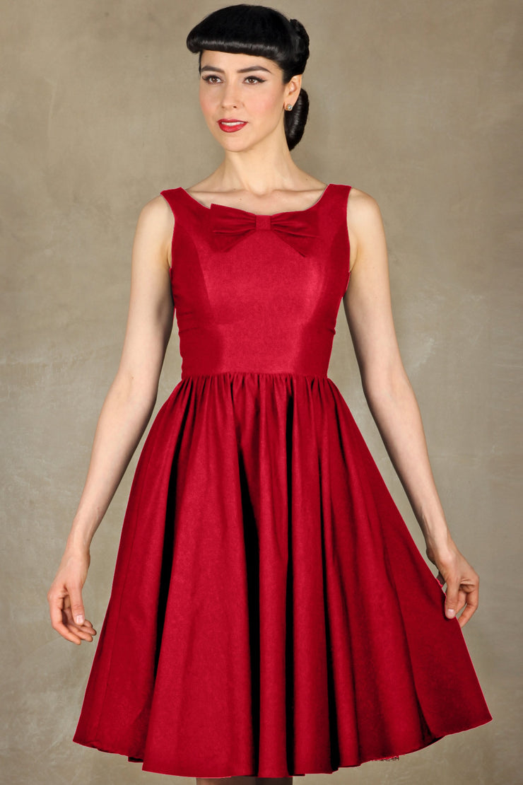 Little Red Swing Dress