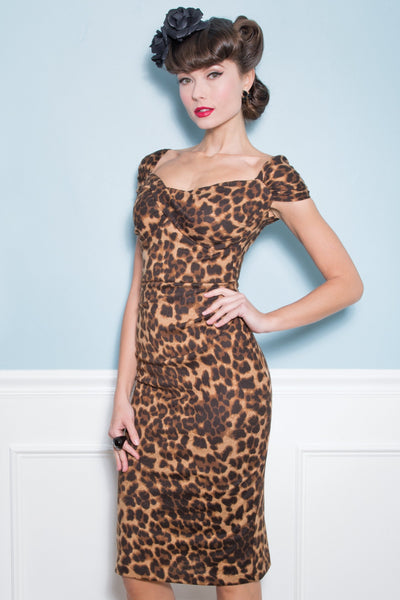 Sexy Lizzy Leopard Dress,stopstaring.