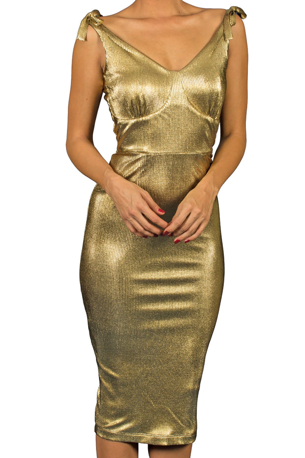 Reno Gold Dress