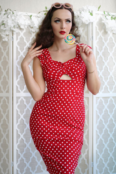 Summer Sweet Polka Dot Dress