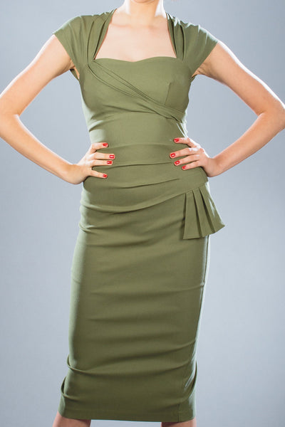Uma Fitted Dress