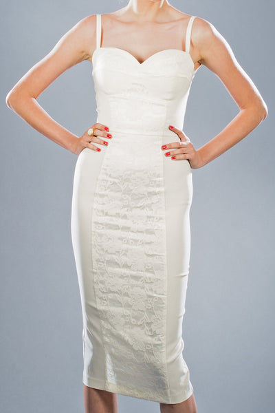 Virginia Lace Fitted Dress