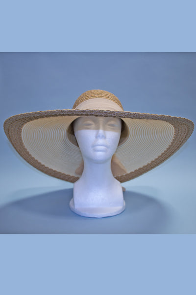 Stunning Light Tan Film Noir Hat