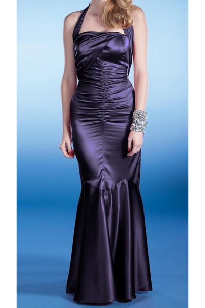SERENA EVENING DRESS PURPLE