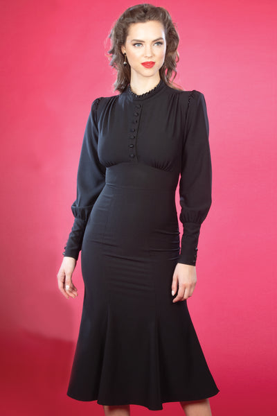 Maritza Dress in Jet Black,stopstaring.