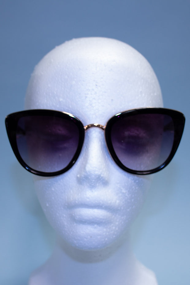 Timeless Film Noir Black Sunglasses
