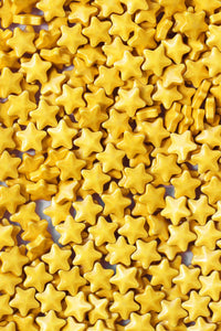SHIMMER GOLD STAR CANDIES
