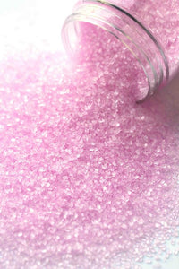 PASTEL PINK FANCY SUGAR CRYSTALS