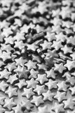 SHIMMER SILVER STAR CANDIES