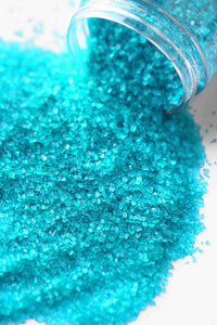 TURQUOISE FANCY SUGAR CRYSTALS (Vegetarian)