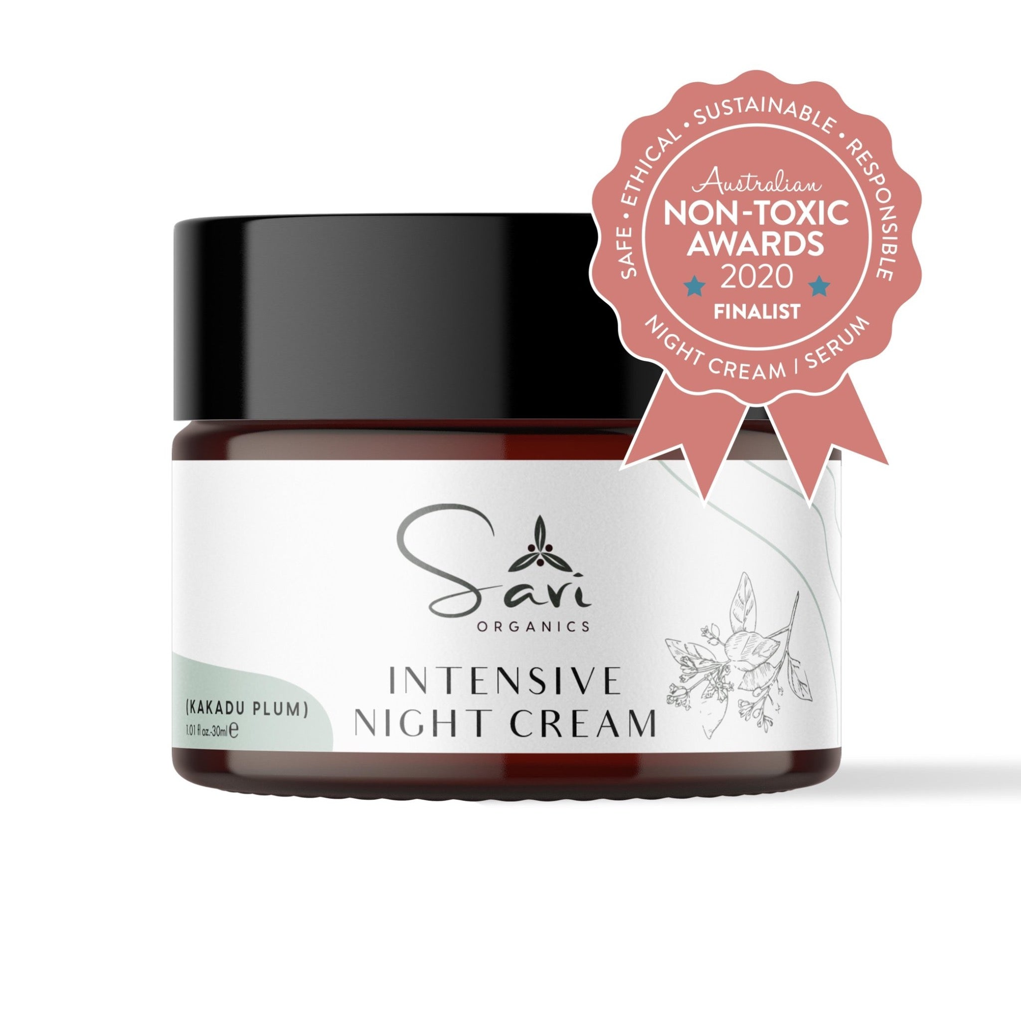 Intensive Night Cream (30 ml) - Finalist at Australian Non-Toxic Awards 2020