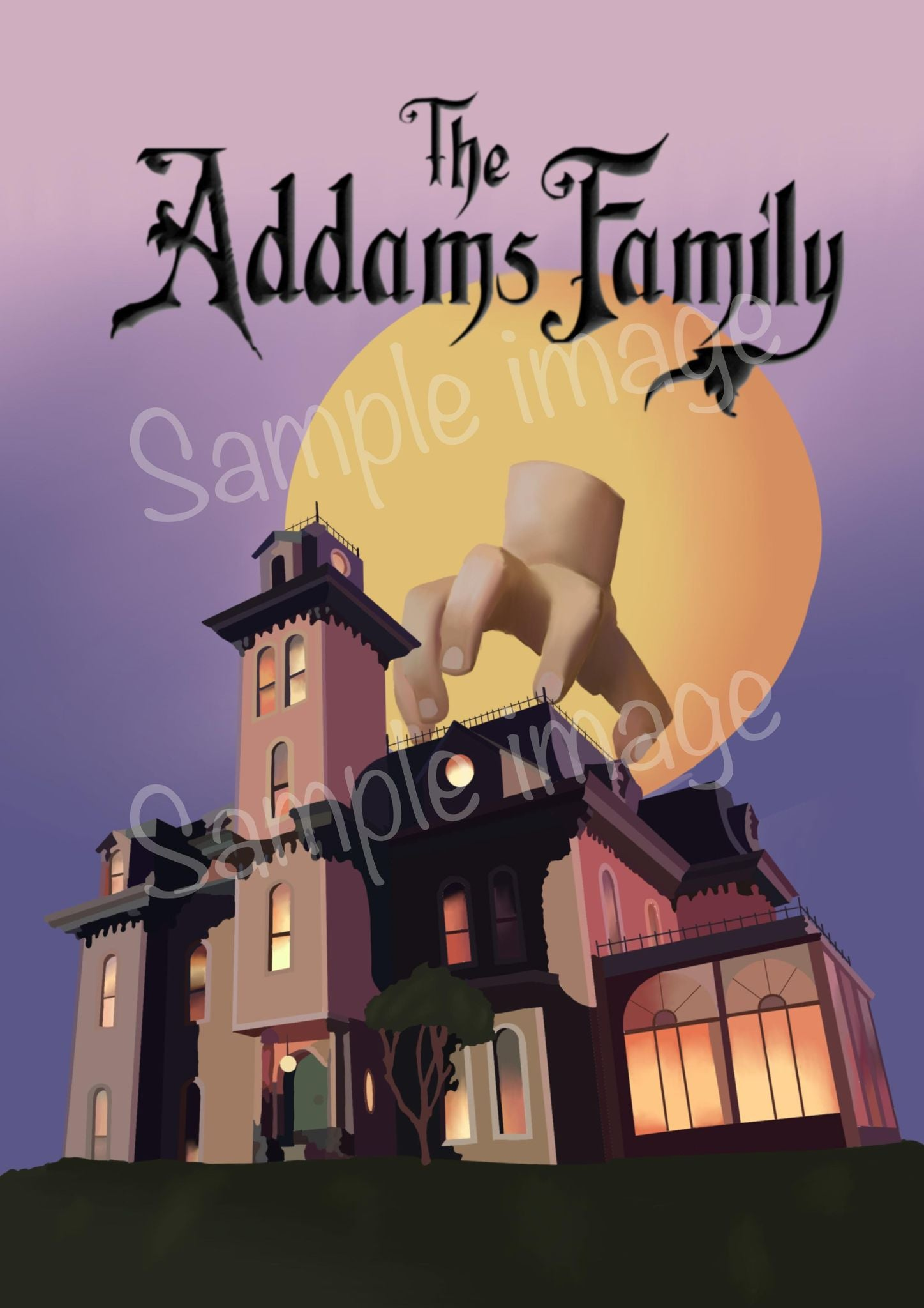 The Addams Family Print