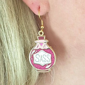 Shot of Sass Earrings