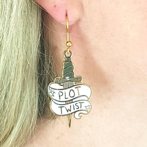 Plot Twist Earrings