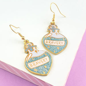 Brew of Bravery Earrings