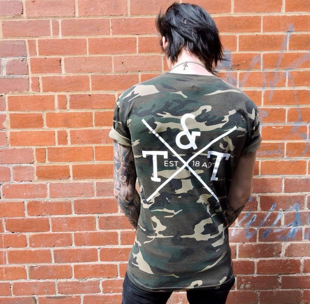 T&T Clothing Camo Tee